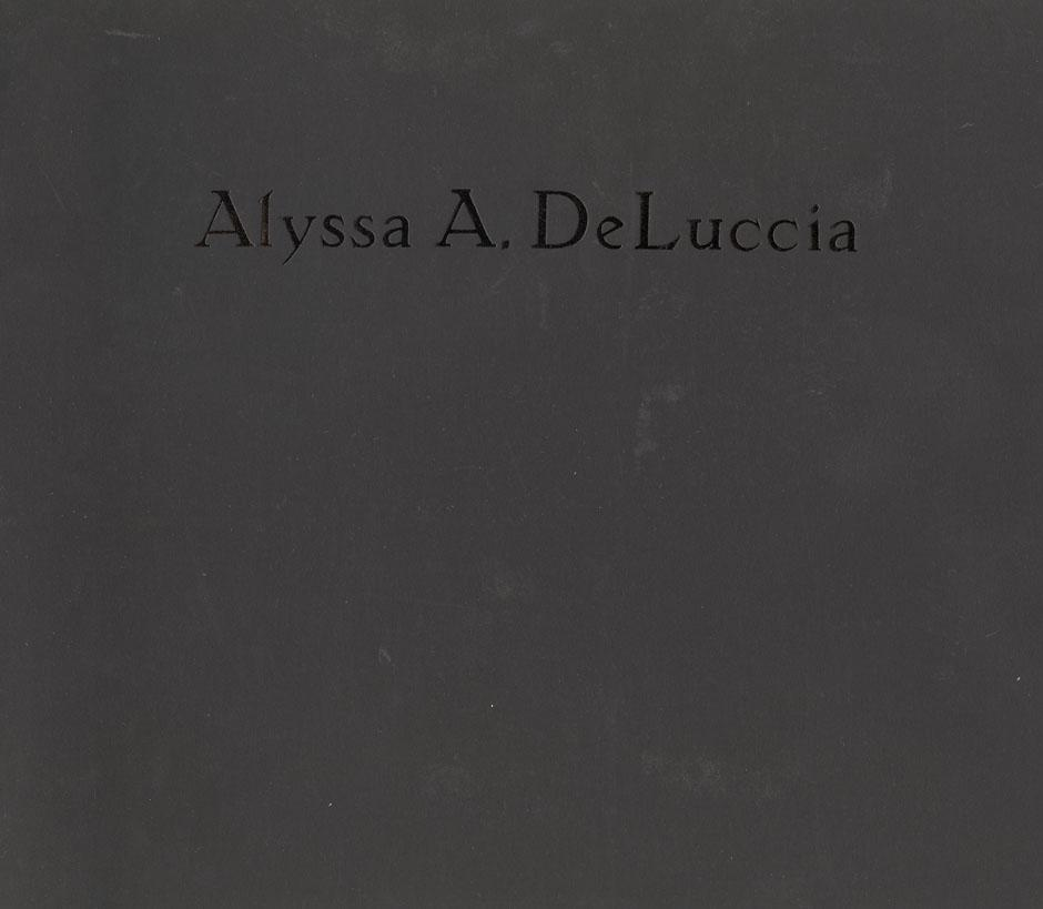 Alyssa A. DeLuccia: Photographs from 1991-1993