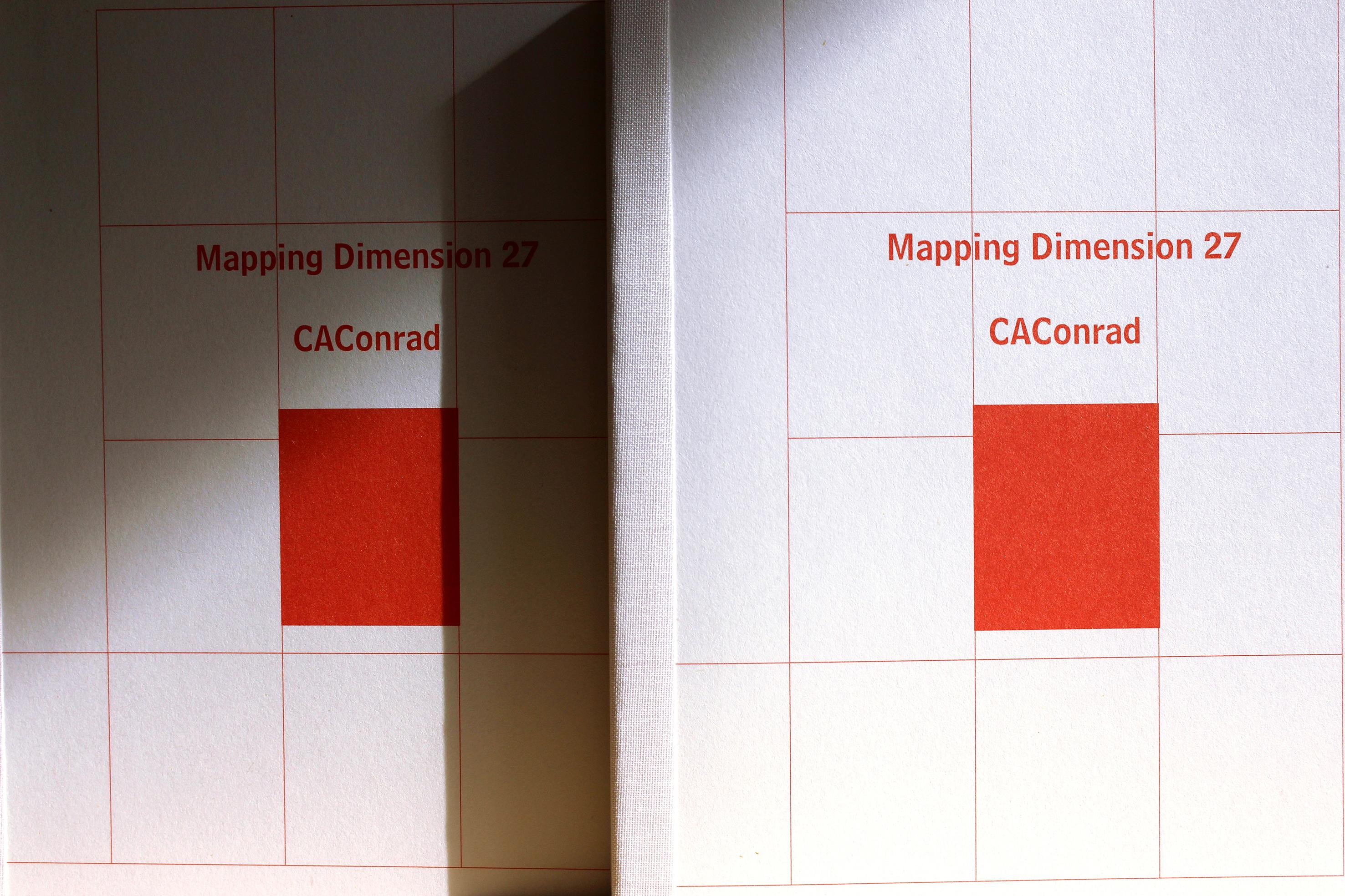CAConrad: Mapping Dimensions 27