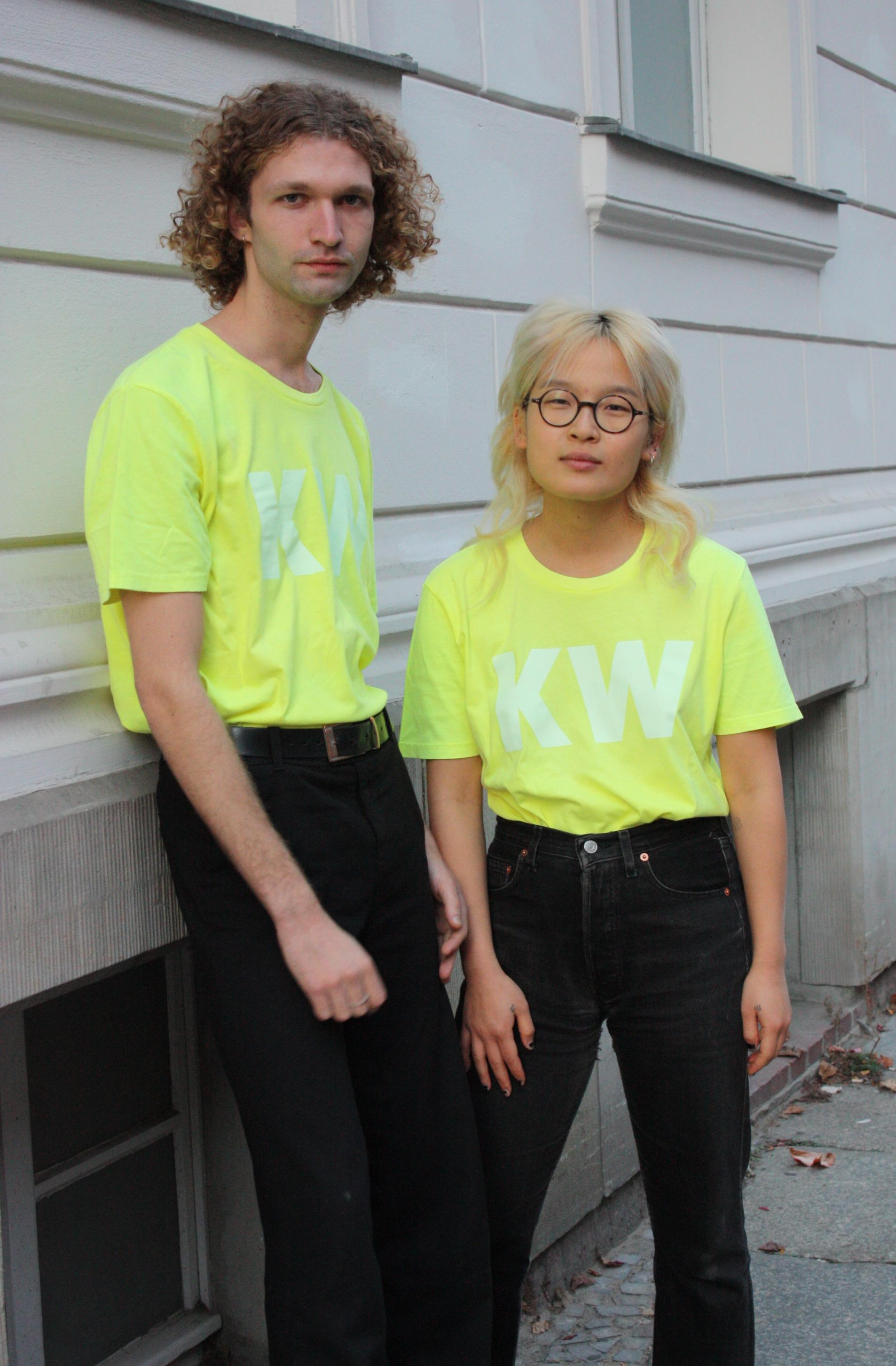Neon Yellow KW Tshirt XL